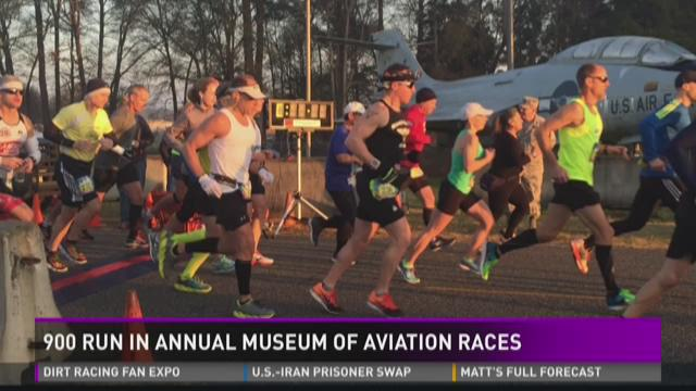 Museum of Aviation sponsors three races