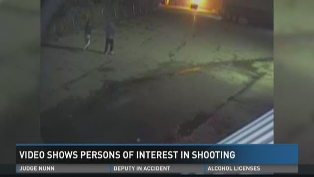 Video shows persons of interest in Ole Times Buffet shooting