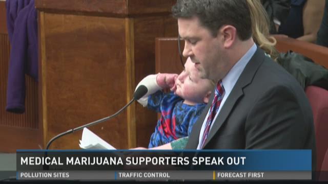 Medical marijuana supporters speak out