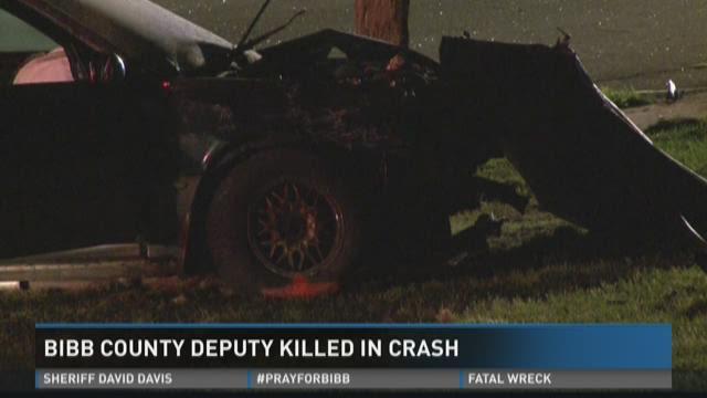 Bibb County deputy killed in crash