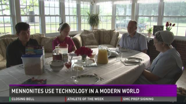 Mennonites use technology in a modern world
