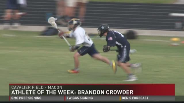 Athlete of the Week: Brandon Crowder