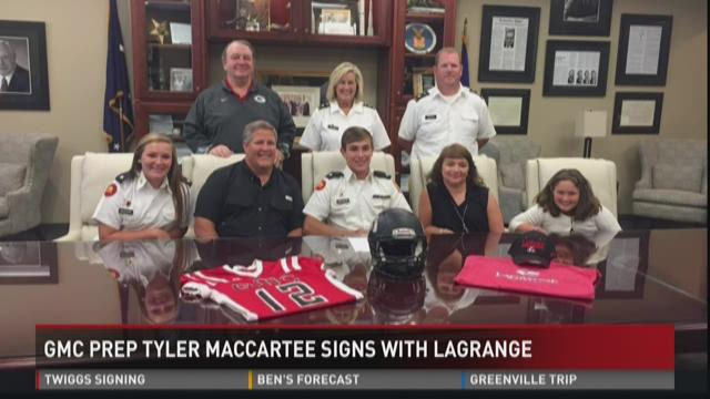 GMC prep Tyler MacCartee signs with LaGrange