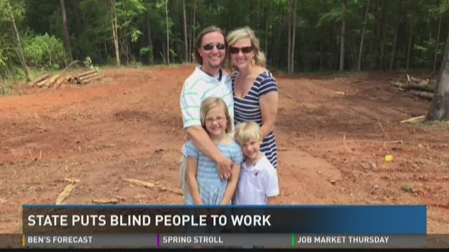 State puts blind people to work