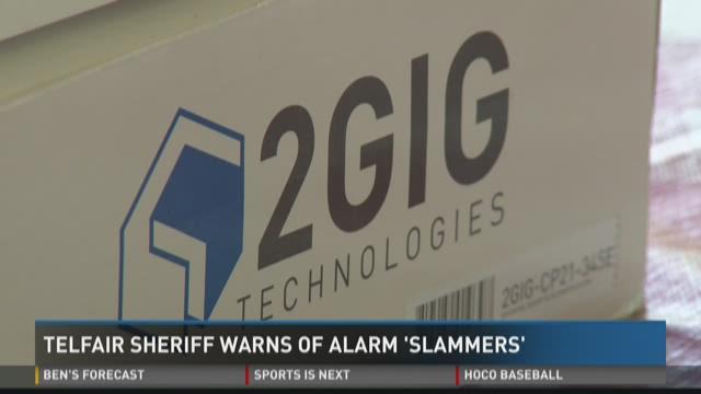 Telfair sheriff warns of alarm 'slammers'