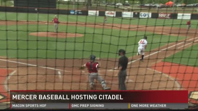 Mercer baseball hosting Citadel
