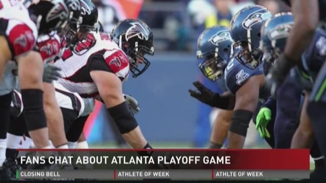 Central Ga. Falcons fans on upcoming playoffs