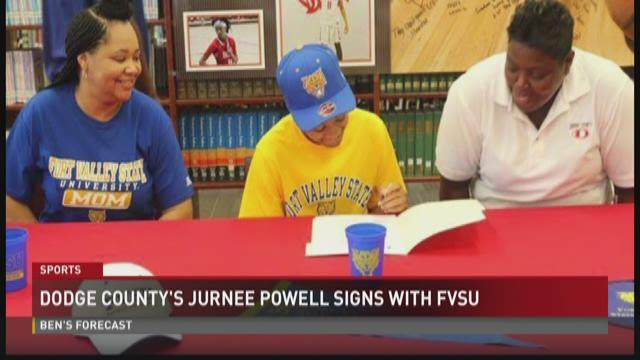 dodge county 39 s jurnee powell signs with fvsu. Cars Review. Best American Auto & Cars Review