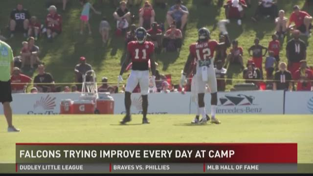 Julio Jones Still wants to improve during Camp
