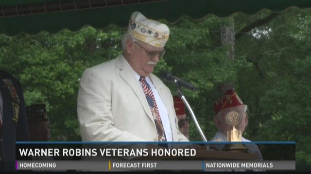 Warner Robins Veterans Honored