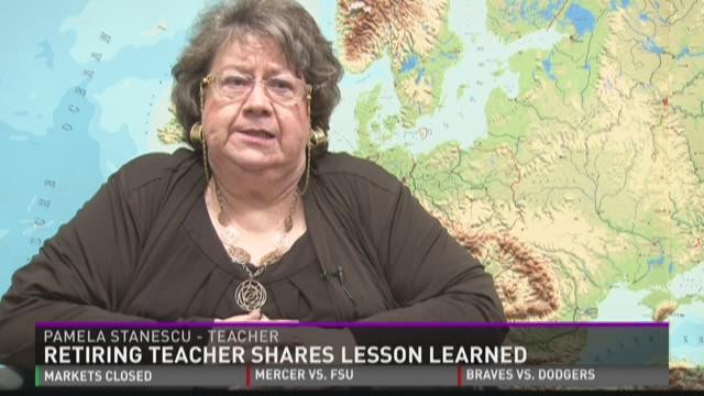 Retiring Teacher Shares Lessons Learned