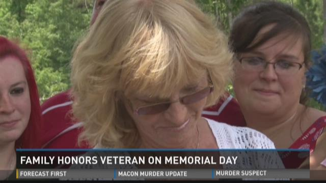 Family Honors Veteran On Memorial Day