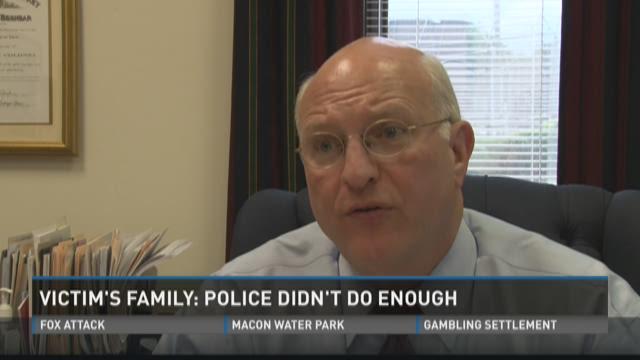 Victim's family: Bibb Co. police didn't do enough