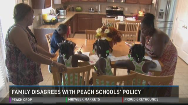 Local family disagrees with Peach County Schools' policy