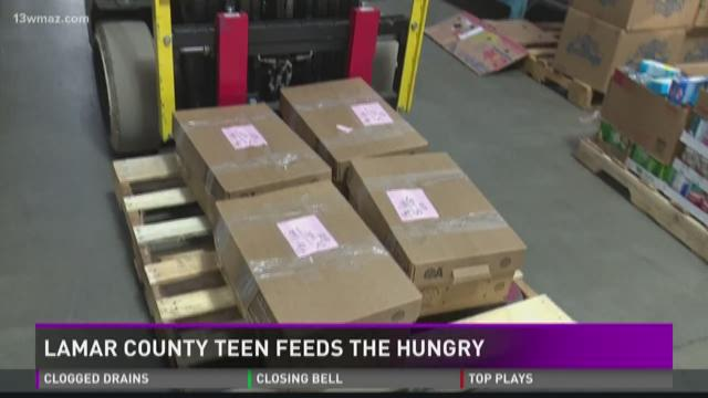 Lamar Co. teen feeds the hungry | 13wmaz.com