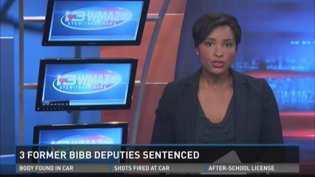Three former Bibb deputies sentenced to three years probation
