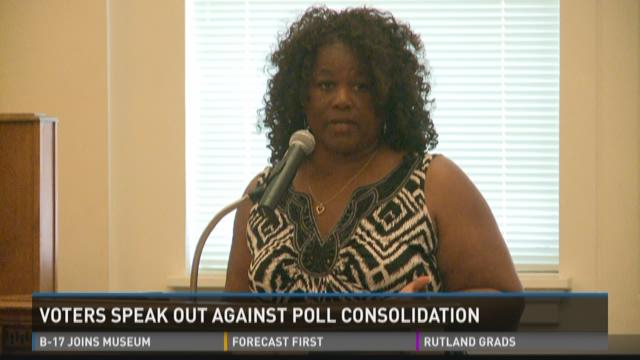 Voters speak out against poll consolidation