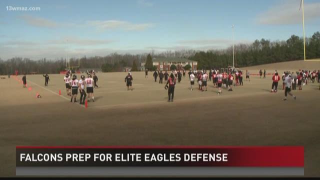 Falcons prep for elite Eagles defense