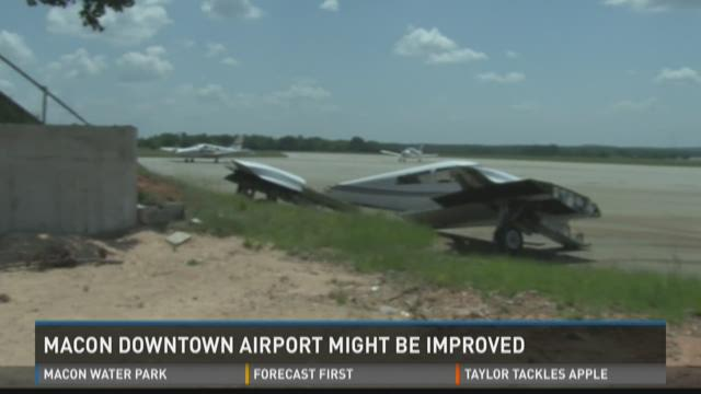 Macon Downtown Airport might be improved