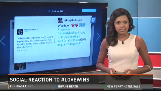 Social Reaction: #LoveWins