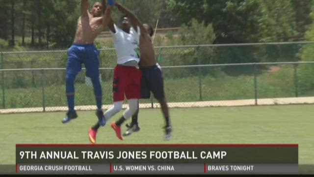 9th annual Travis Jones Football Camp