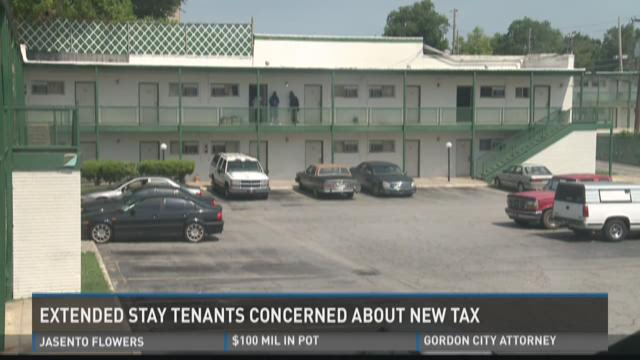 Extended stay tenants concerned about new tax