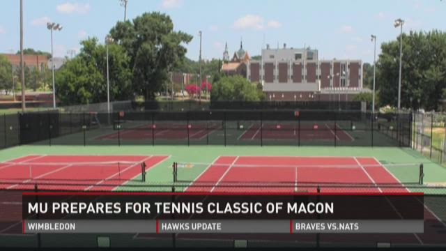 WATCH: Tennis Classic of Macon brings changes to Mercer courts