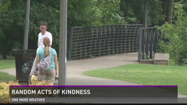 Macon man encouraging acts of kindness on his birthday