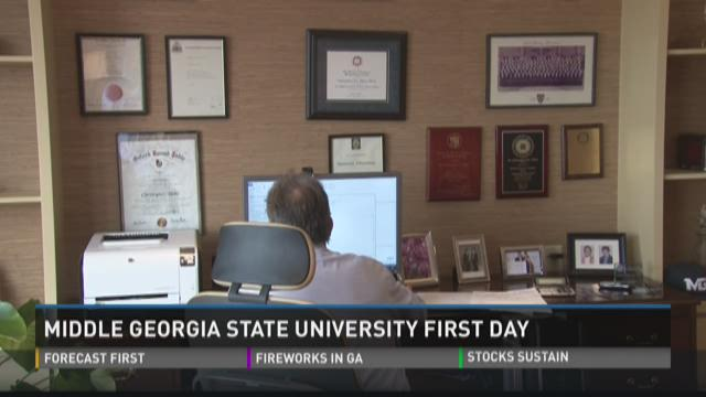 Middle Georgia State starts first day as university