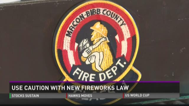 Use caution with new fireworks law