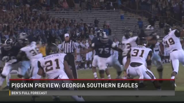 Pigskin Preview: Georgia Southern Eagles