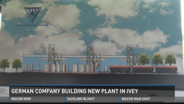 German company building new plant in Ivey