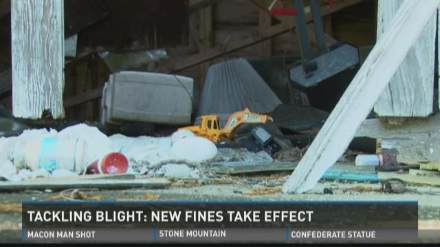 Tackling blight: New fines take effect