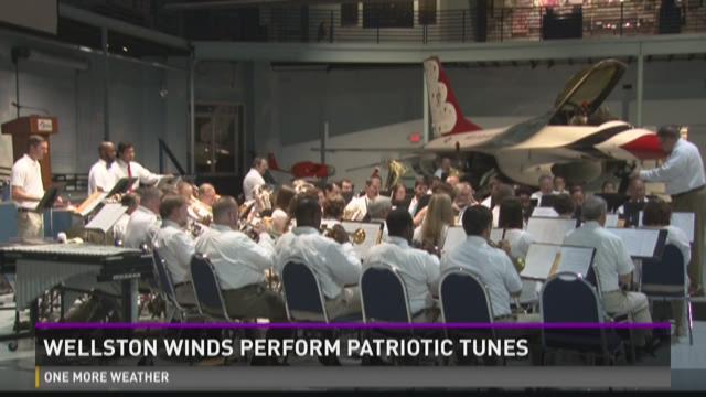Wellston Winds perform patriotic tunes