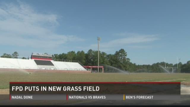 FPD puts in new grass field