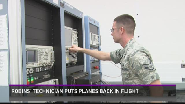 Robins' technician puts planes back in flight