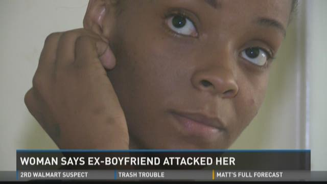 Macon woman says ex-boyfriend attacked her