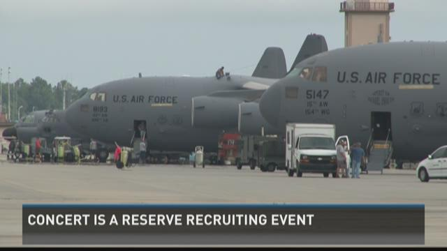 Darius Rucker concert was Air Force Reserves recruiting event