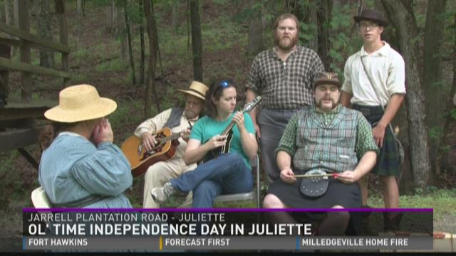 Jarrell Plantation's annual Independence Day activities