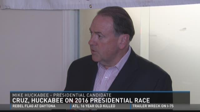 Cruz, Huckabee on 2016 Presidential race