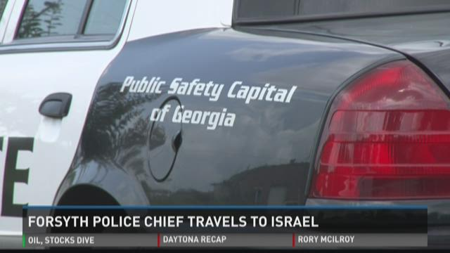 Forsyth police chief travels to Israel