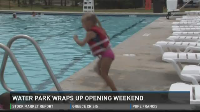 Water park drops prices after opening weekend