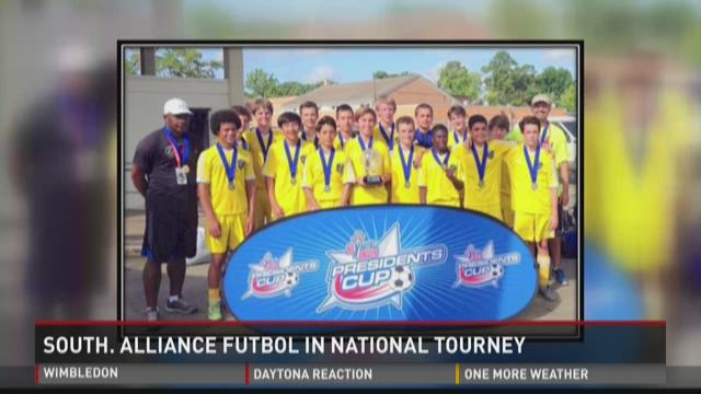WATCH: Central Ga. soccer team in national tourney