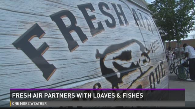 Fresh Air partners with Loaves & Fishes