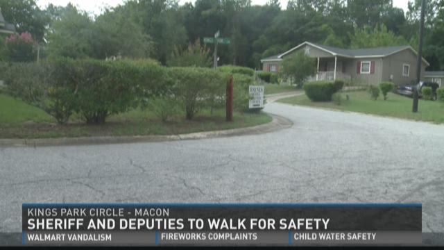 Sheriff, deputies to 'Walk for Safety'