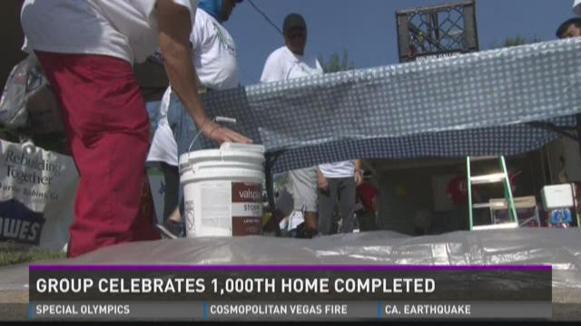 Warner Robins Celebrates 1,000th Home Completed