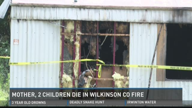 Mother, 2 Children Die In Wilkinson Co. Fire