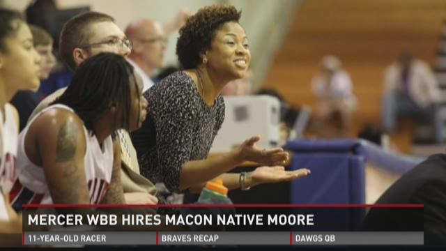 WATCH: Mercer hires Macon native Moore