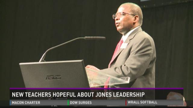 New Teachers hopeful about Jones's leadership