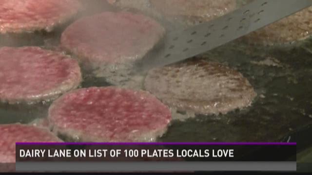 Dairy Lane on list of 100 plates locals love